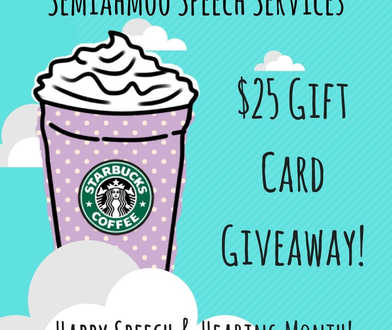Weekly Gift Card Giveaways!