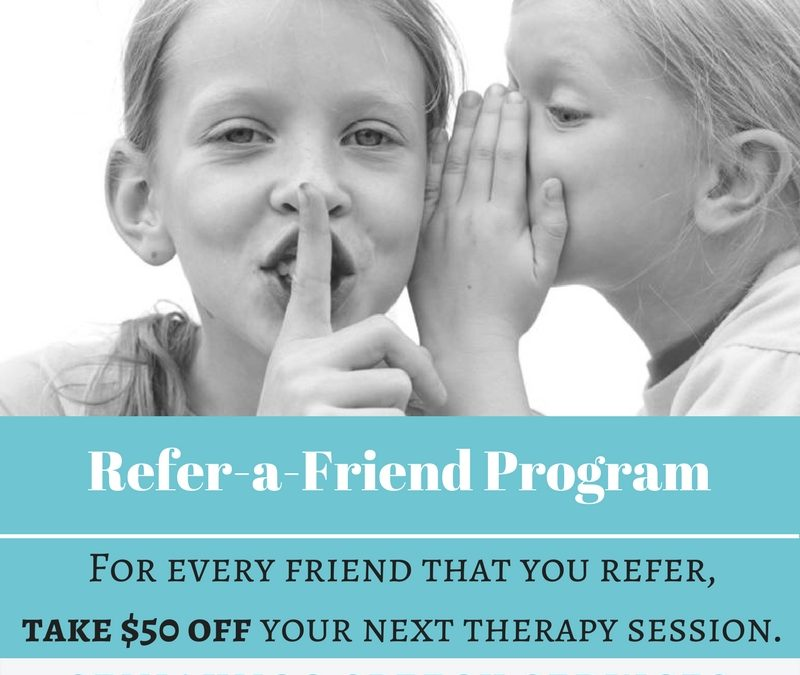 Refer A Friend for June!
