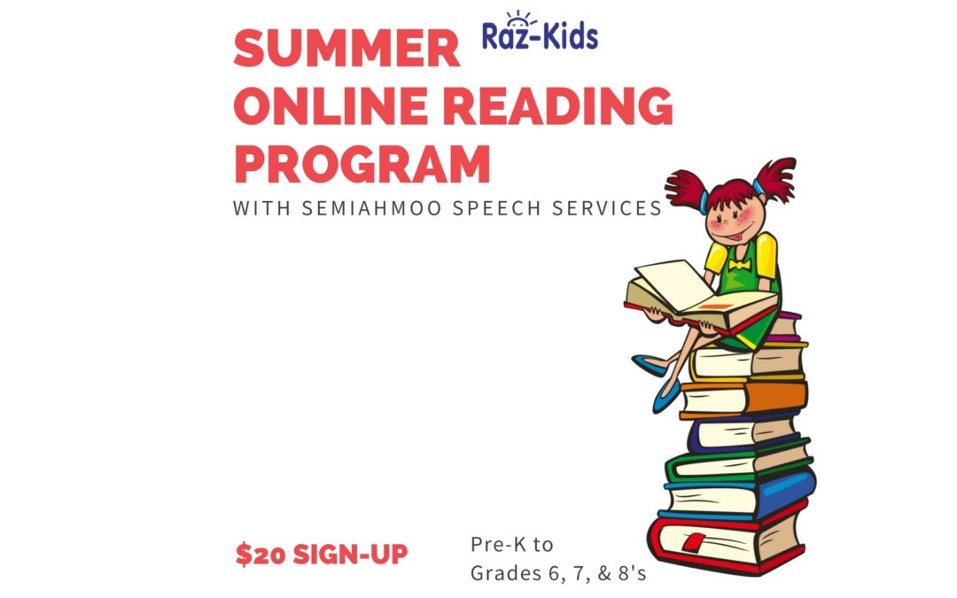 NEW* Summer Online Reading Program