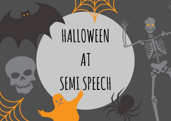 HALLOWEEN 2017 AT SEMIAHMOO SPEECH!