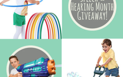 Speech & Hearing Month Giveaway!